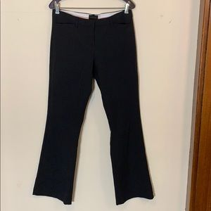 Wide leg black dress pants, The Limited 6